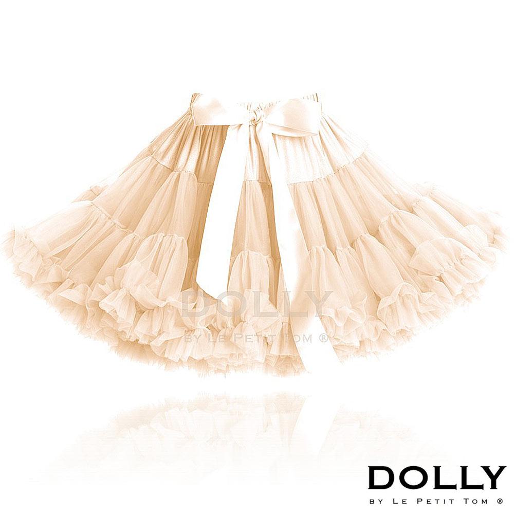 Dolly 荷蘭精品公主雪紡澎裙-奶油色 (1-6Y)