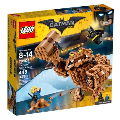 樂高LEGO蝙蝠俠系列 - LT70904 Clayface? Splat Attack