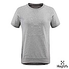 Haglofs 女 Jaunt Crewneck 有機棉T恤 灰色混合色