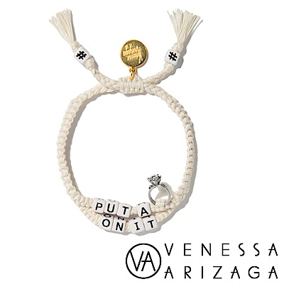 Venessa Arizaga PUT A RING ON IT 米白色手鍊