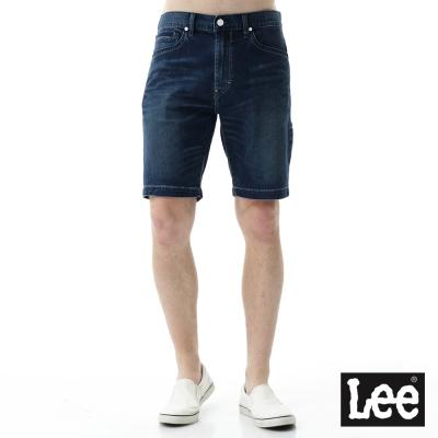 Lee Jade Fusion冰精玉石牛仔短褲-男款-深藍