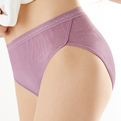 曼黛瑪璉-2015SS 中腰三角日間生理褲M-XL(桔梗紫)