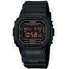 G-SHOCK 赤血方剛之傳神運動數位錶(DW-5600MS-1)-方款