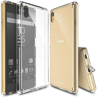 RINGKE Sony Xperia Z5 Fusion 透明背蓋手機保護殼