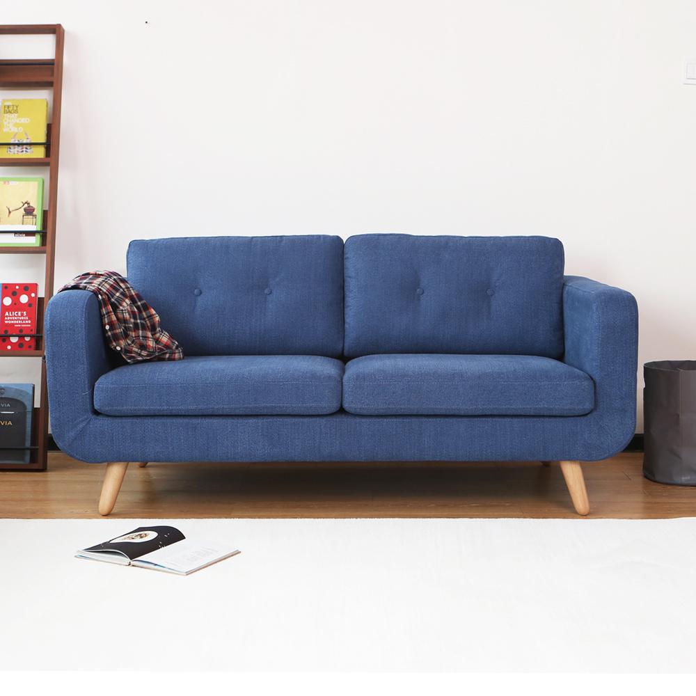 MODERN DECO LBIZA 伊碧莎簡約造型雙人布沙發-5色可選