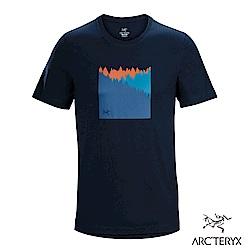 Arcteryx 24系列 男 有機棉 SUBALPINE 短袖T恤 翠鳥藍