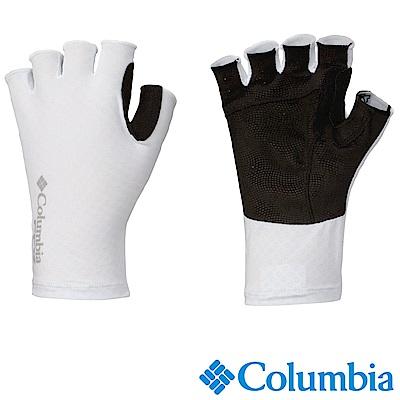 Columbia 哥倫比亞 -涼感快排防曬抗UV50手套 白 UCU99970WT