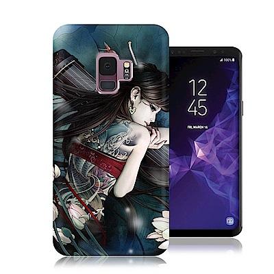 張小白 Samsung Galaxy S9 古典奇幻插畫 滿版空壓保護殼(七秀)