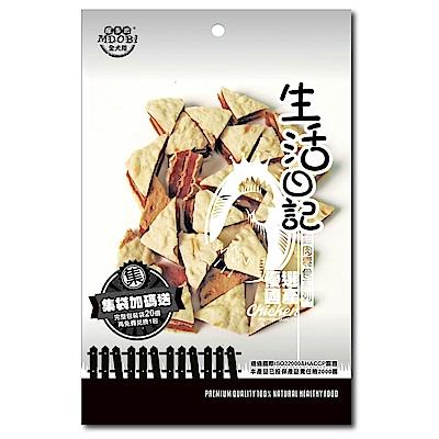 MDOBI摩多比-生活日記 狗零食 雞肉鱈魚三明治75g -3包組