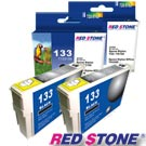 RED STONE for EPSON NO.133/T133150(黑色×2)墨水匣組