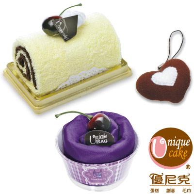 優尼克藍莓布蕾蛋糕三件組