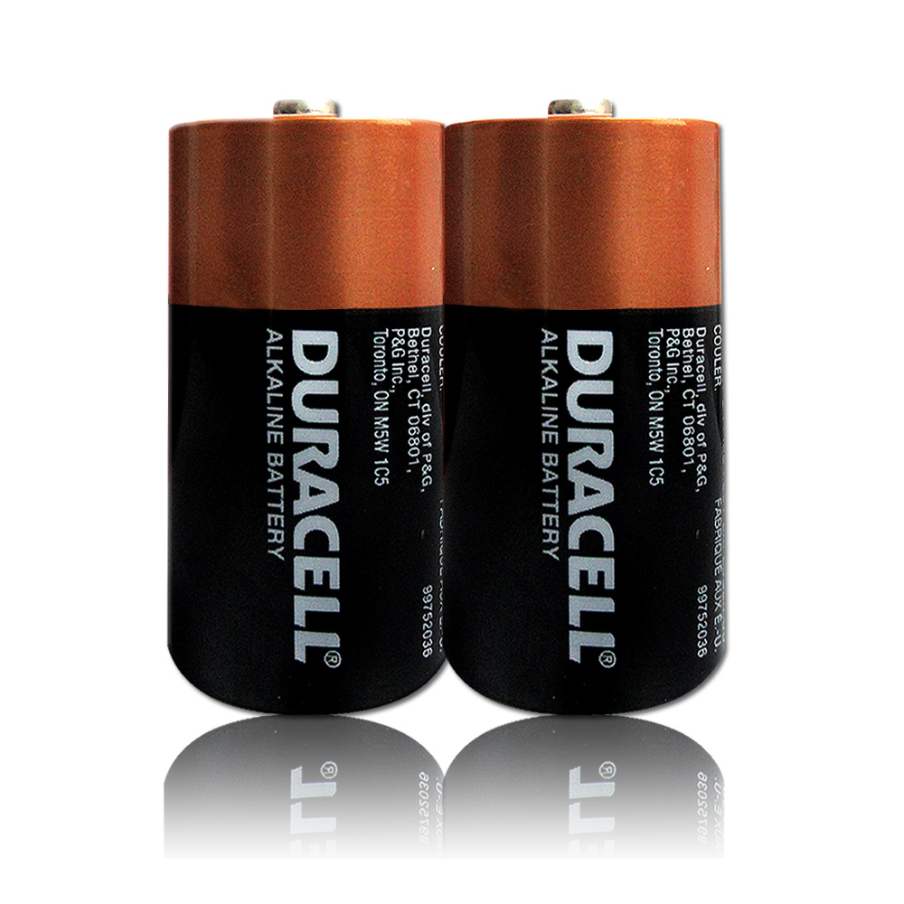 DURACELL 金頂 2號鹼性電池 (6入超值包)