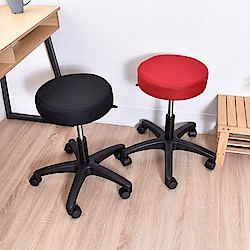 凱堡 圓型轉轉椅/氣壓椅/吧檯椅/工作椅-滑輪/PP輪