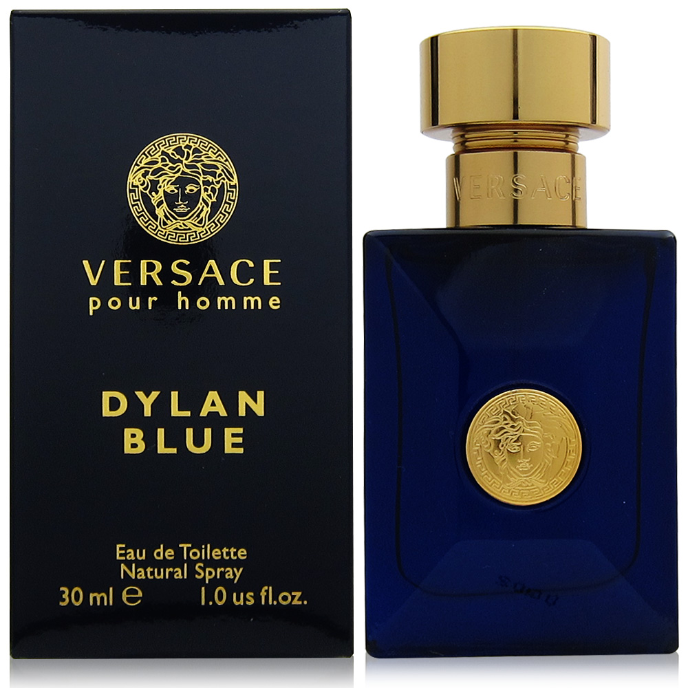 VERSACE凡賽斯 狄倫正藍男性淡香水30ml