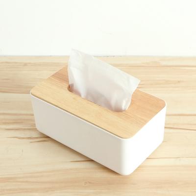 日創優品 橡木面紙盒 小(方形木蓋)