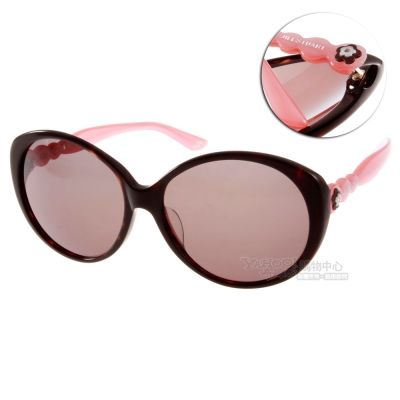 JILL STUART太陽眼鏡 雙色變奏/黑粉#JS20005 C02