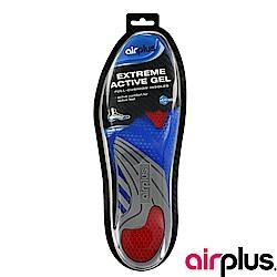 【AIRPLUS】全制震凝膠鞋墊-藍