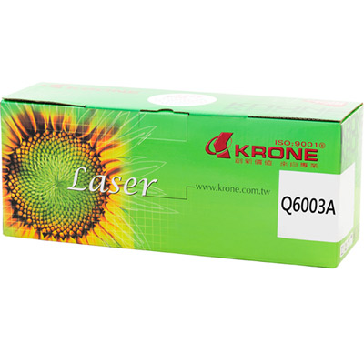 KRONE for HP Q6003A高品質環保碳粉匣-紅色