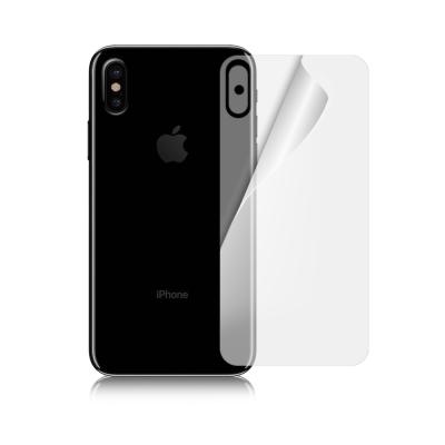 魔力 iPhone X 5.8吋 背面高透光抗刮螢幕保護貼(專屬背面使用)-非滿...