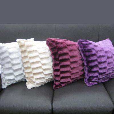 范登伯格 - 閣采 立體格紋抱枕 (兩入一組 - 50x50cm)