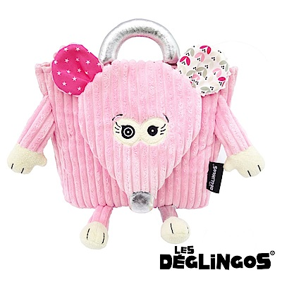 Les Deglingos 立體玩偶背包(兒童背包)-老鼠 (COQUELICOS)