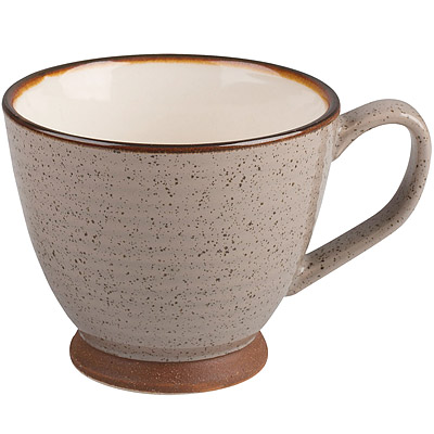 CreativeTops Cafetiere寬口沙感茶杯(棕 250 ml)