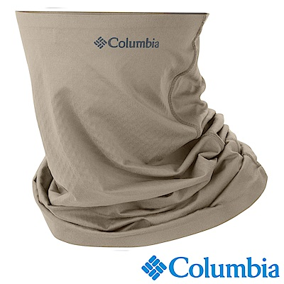 Columbia 哥倫比亞 男女-防曬50涼感快排頸圍 卡其 UCU95040KI