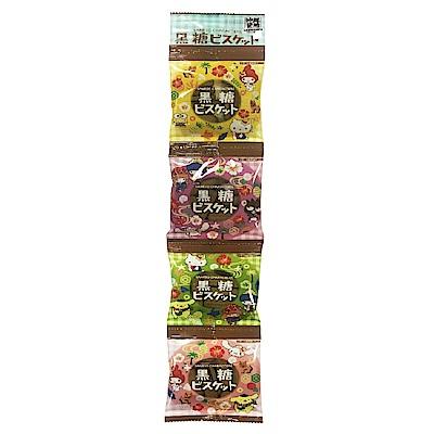 北陸 三麗鷗黑糖四連餅(60g)