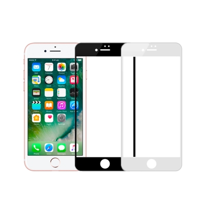Cooyee Apple iPhone 7/8 Plus 3D滿版玻璃貼-亮面全...