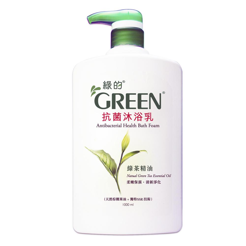 綠的GREEN 抗菌沐浴乳-綠茶精油1000ml