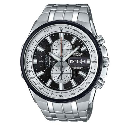 EDIFICE魅力風格簡約俐落科技感時尚計時賽車錶(EFR-549D-1B)簡約白50mm