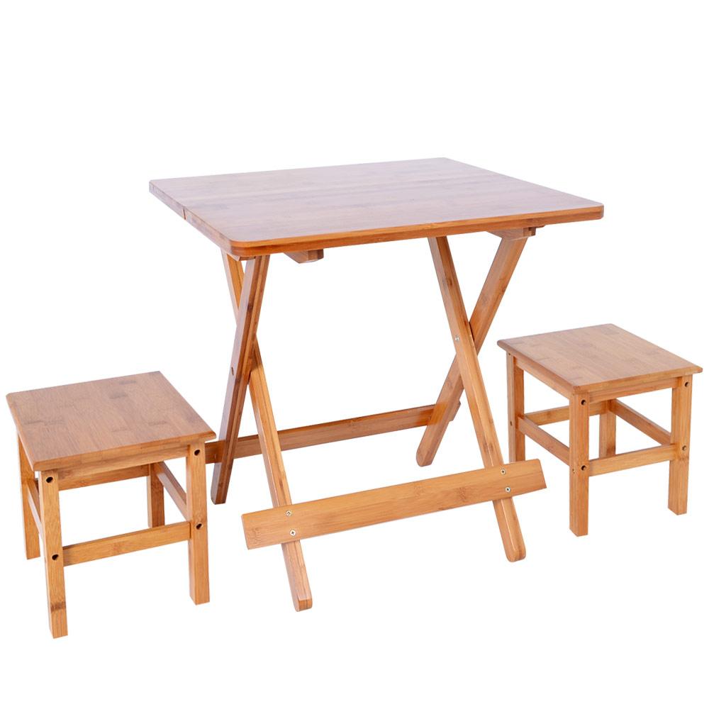 楠竹折疊桌1桌2椅ZZZ-90(M號)