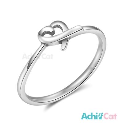AchiCat 925純銀戒指尾戒 純真的愛