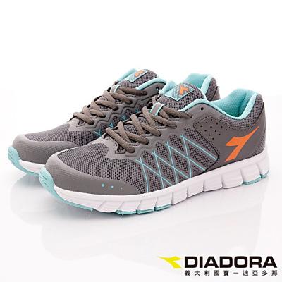 DIADORA-乳膠動能慢跑鞋款-RFI188灰(男段)