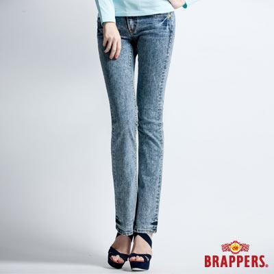 BRAPPERS 女款 Lady Vintage系列-女用彈性小喇叭褲-淺色雪花
