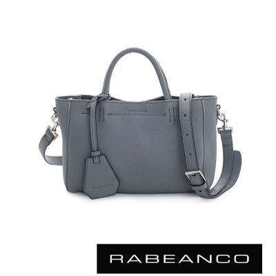 RABEANCO迷時尚系列優雅兩用小手提包(小) - 墨水藍