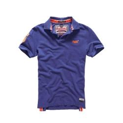 SUPERDRY 極度乾燥 短袖 POLO 紫色