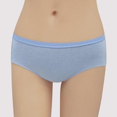 瑪登瑪朵 無鋼圈 低腰寬邊三角內褲(百搭藍)