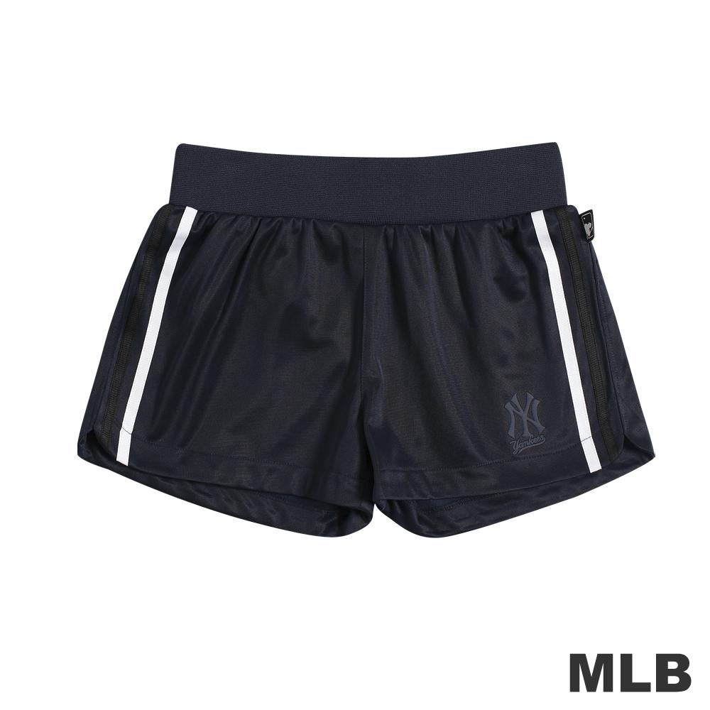 MLB-紐約洋基隊舒適休閒短褲-深藍(女)