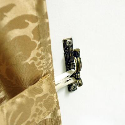 布安於室-仿舊質感金屬小草掛(4對)