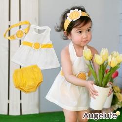 baby童衣 套裝嬰兒 夏日向日葵寶寶服 32022
