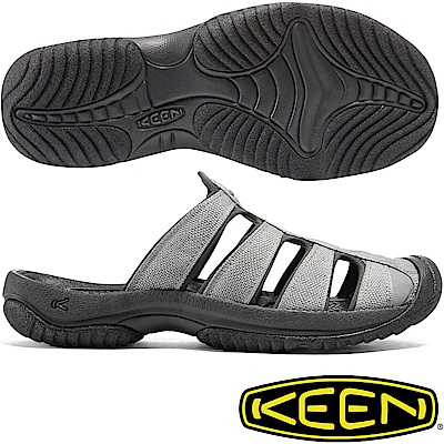 KEEN 1016793灰色 Aruba II 男運動護趾拖鞋