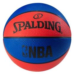 SPALDING NBA NO.1 迷你小球藍/紅