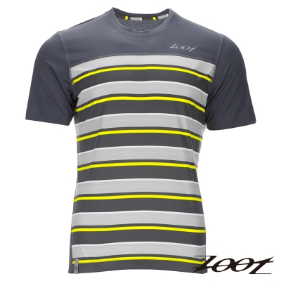 ZOOT 頂級極致型輕羽級吸排運動跑衣(男)Z1604028(城市黃)