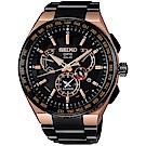 SEIKO精工ASTRON GPS 8X53雙時區鈦金屬衛星錶(SBXB126J)
