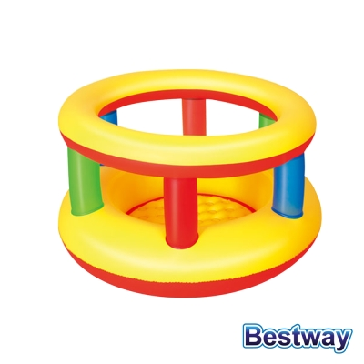 BESTWAY 趣味造型充氣遊戲池/球池 (繽紛蛋糕)