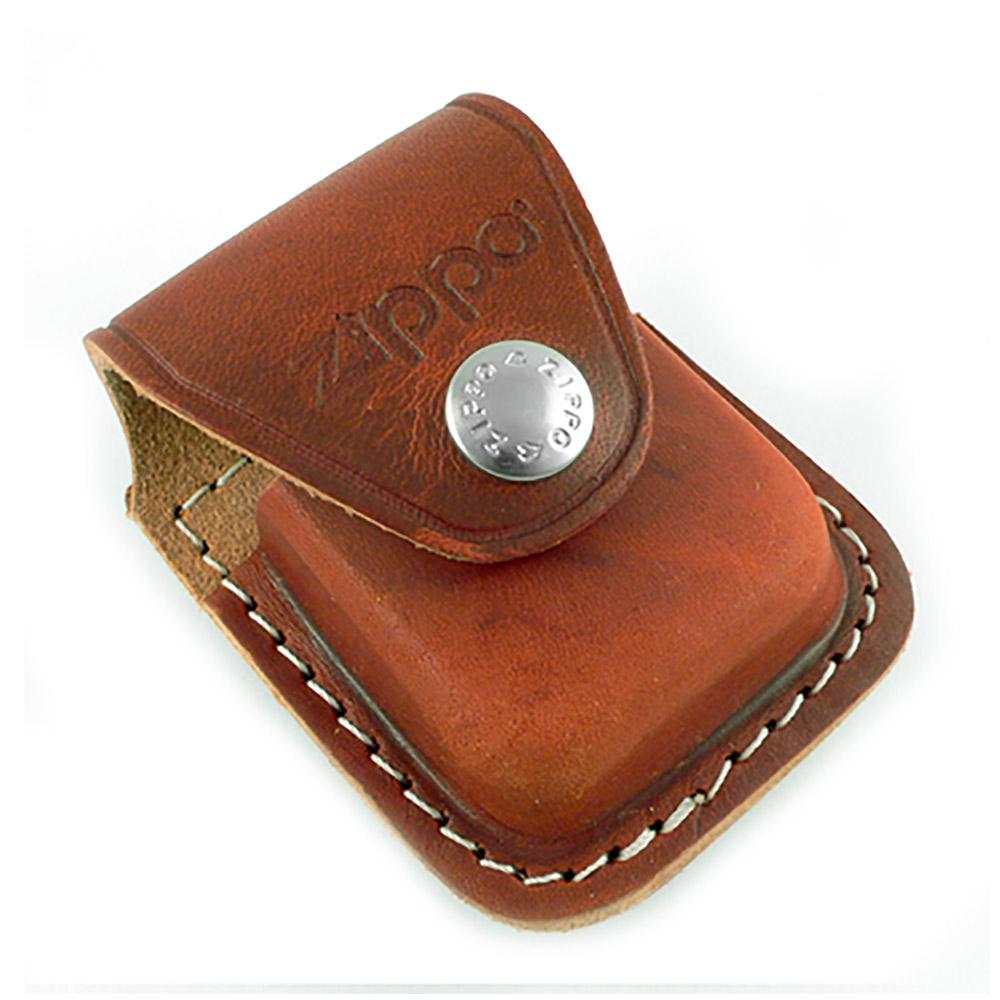 【ZIPPO】背夾式~打火機皮套(棕色款)