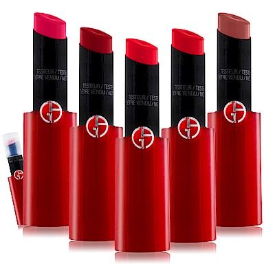 GIORGIO ARMANI 奢華訂製緞光水唇膏3g-無盒-多色可選