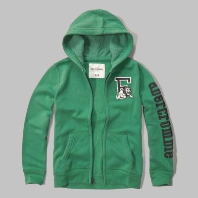 AF a&f Abercrombie & Fitch 小孩外套 綠色