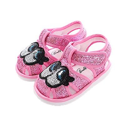 阿諾帕瑪大眼睛寶寶嗶嗶鞋 粉 sk0400魔法Baby